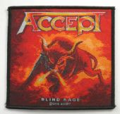 Accept - 'Blind Rage' Woven Patch